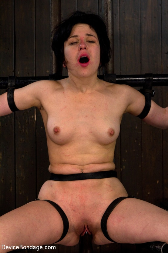 Kink 'Vulnerable pain slut pussy get pulverized by the meanest machines around.' starring Juliette March (Photo 8)
