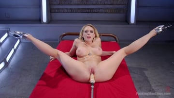 Kagney Linn Karter - Blonde with Massive Tits gets Powered Fucked into Mind Blowing Orgasms