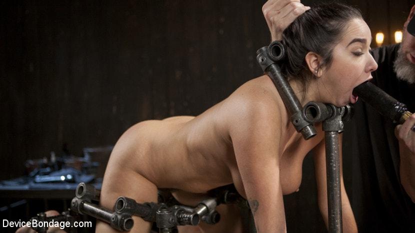 Kink 'Big Tit Squirter Screams in Metal Bondage' starring Karlee Grey (Photo 4)