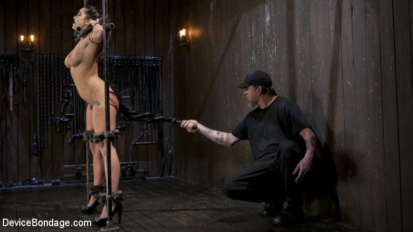 Kink 'Big Tit Squirter Screams in Metal Bondage' starring Karlee Grey (Photo 11)