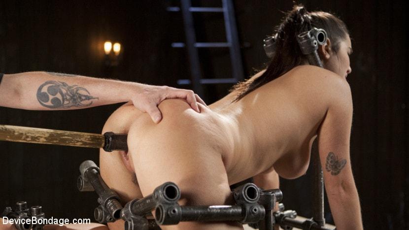 Kink 'Big Tit Squirter Screams in Metal Bondage' starring Karlee Grey (Photo 14)