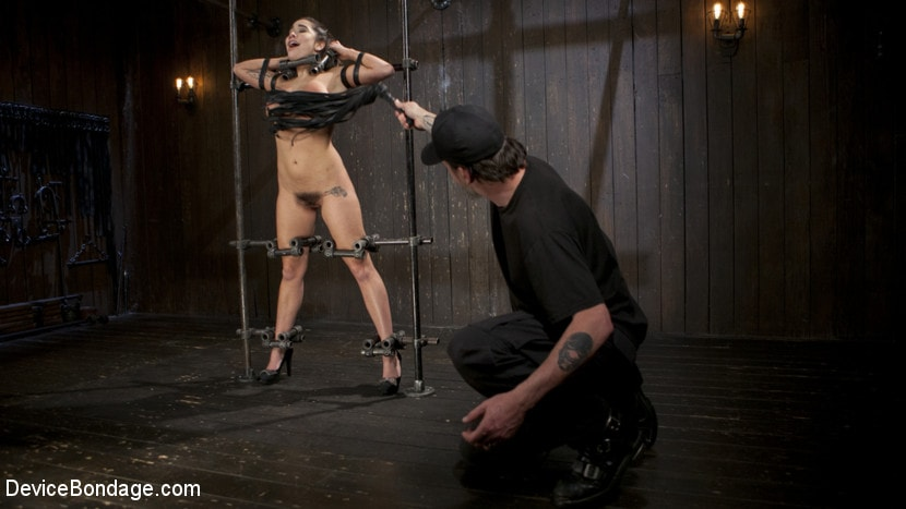 Kink 'Big Tit Squirter Screams in Metal Bondage' starring Karlee Grey (Photo 15)