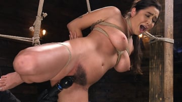 Karlee Grey - Submissive Big Tits in Brutal Bondage and Suffering