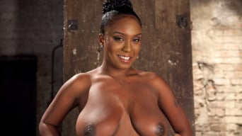 Layton Benton in 'Big titted greedy whore fucked in an ally'