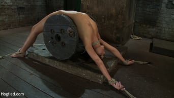 Katie Jordin in 'Nipple torture, brutal crotch rope and extreme bondage Girl next door is abused and made to cum!'