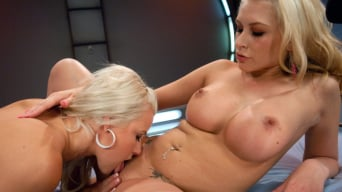 Katie Summers in 'Blonds Twins in Bondage MACHINE FUCKED with a Guest Fisting by Princess Donna'