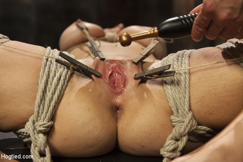 Bondage Crotch Rope Orgasm