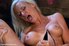 Kaylee Hilton - Beautiful Blonde MidWest Girl Stuffed Full with Machines (Thumb 14)