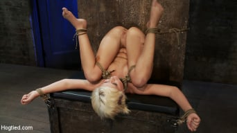 Kelly Surfer in 'Fresh girl from Down Under suffers some hard foot caning One brutal squirting orgasm after anoth'