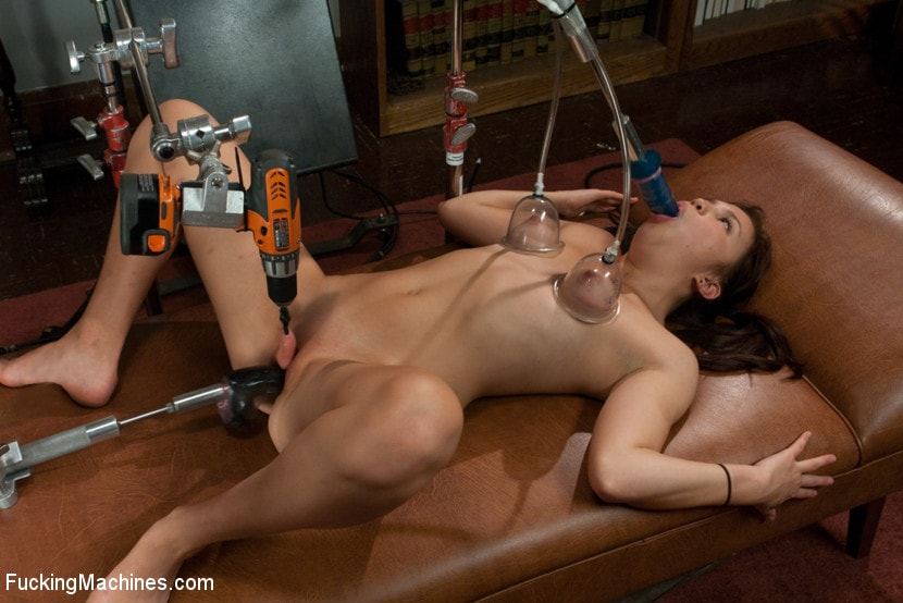 Kink '18yr old FIRST Porn - Mechanical Shagging Overload that makes her SQUIRT!' starring Kiki Koi (Photo 1)