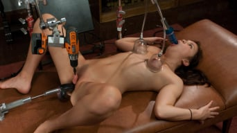 Kiki Koi in '18yr old FIRST Porn - Mechanical Shagging Overload that makes her SQUIRT!'