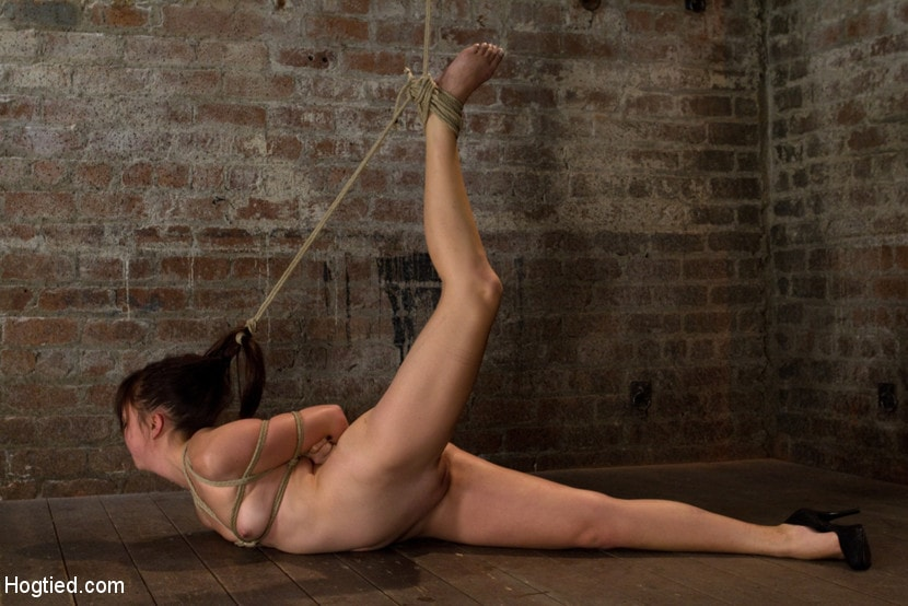 Kink '18yr old suffers her first hardcore bondage. Made to cum over and over, left to beg and suffer!' starring Kiki Koi (Photo 1)