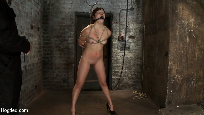 Kink '18yr old suffers her first hardcore bondage. Made to cum over and over, left to beg and suffer!' starring Kiki Koi (Photo 2)