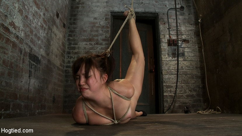 Kink '18yr old suffers her first hardcore bondage. Made to cum over and over, left to beg and suffer!' starring Kiki Koi (Photo 7)