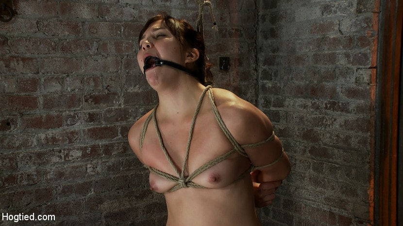Kink '18yr old suffers her first hardcore bondage. Made to cum over and over, left to beg and suffer!' starring Kiki Koi (Photo 10)