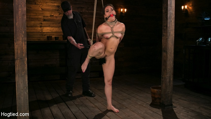 Kink 'New Pain Slut Proves her Worth to The Popes High Expectations' starring Kimber Woods (Photo 1)