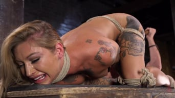 Kleio Valentien in 'Stunning Tattooed Babe Made to Endure Torment in Brutal Bondage'