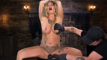 Kleio Valentien in 'Tattooed Slut Is Tormented In Bondage And Made To Cum'