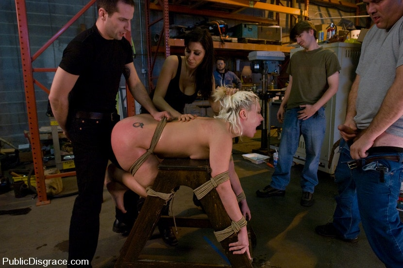 Kink 'Fisted and Ass Fucked in Public!' starring Krissy Leigh (Photo 5)