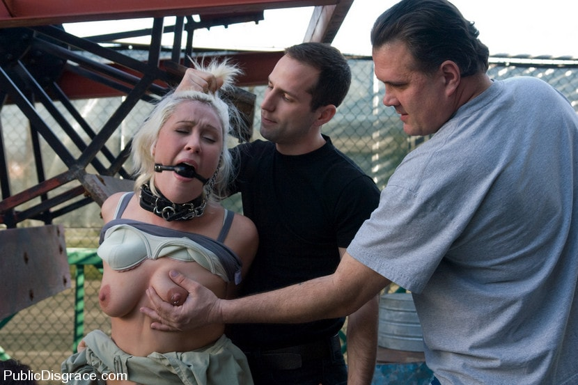 Kink 'Fisted and Ass Fucked in Public!' starring Krissy Leigh (Photo 10)