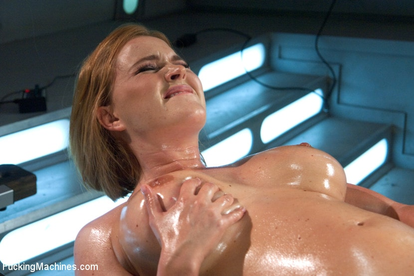 Kink 'Meaty Pussy Pounded by Machine Powered Cock' starring Krissy Lynn (Photo 4)
