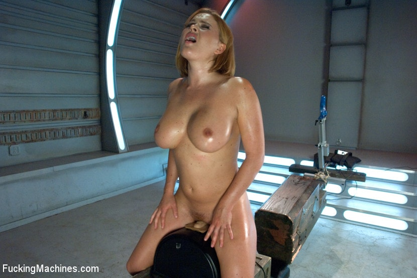 Kink 'Meaty Pussy Pounded by Machine Powered Cock' starring Krissy Lynn (Photo 8)