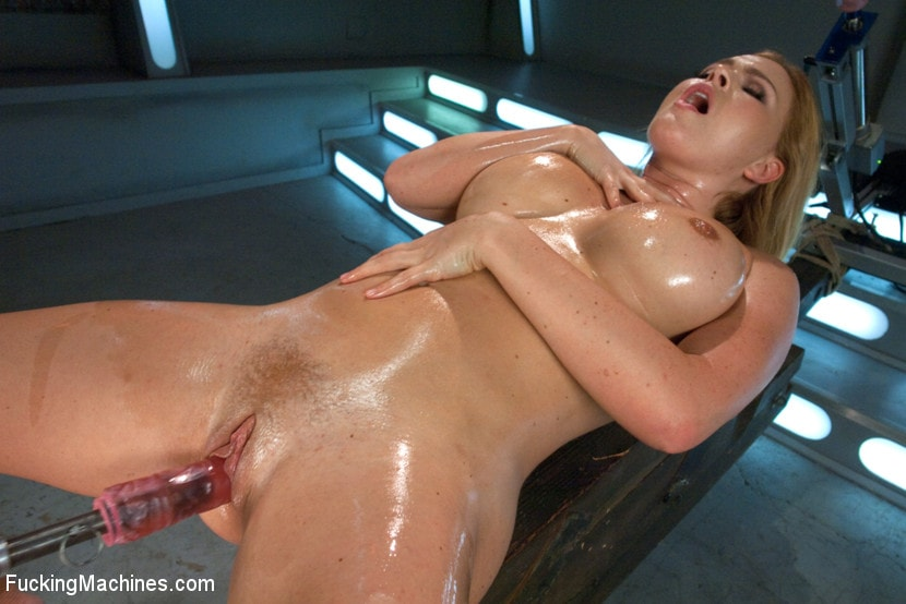 Kink 'Meaty Pussy Pounded by Machine Powered Cock' starring Krissy Lynn (Photo 10)