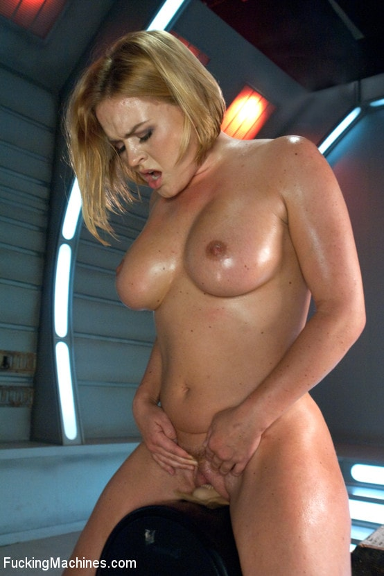 Kink 'Meaty Pussy Pounded by Machine Powered Cock' starring Krissy Lynn (Photo 17)
