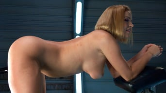 Krissy Lynn in 'Round,Perfect Ass, Sexy Full tits and Long Orgasms from Machine Pounding'