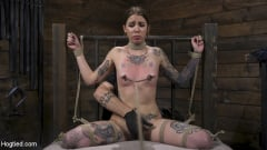 Krysta Kaos - Alt Dream Girl Krysta Kaos Abused and Fucked in Extreme Rope Bondage!! (Thumb 10)