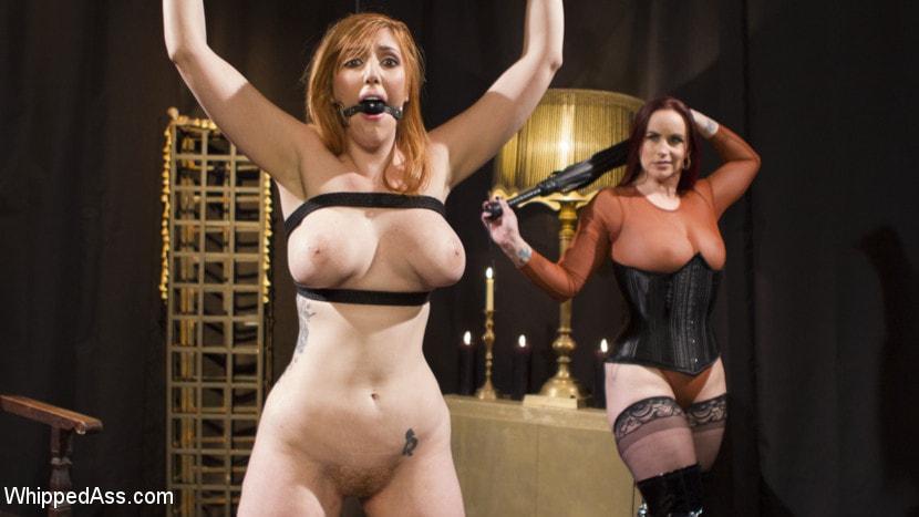 Kink 'Bella Rossi Breaks in Redhead Lesbian Anal Slave' starring Lauren Phillips (Photo 5)