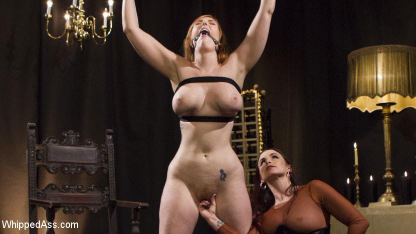 Kink 'Bella Rossi Breaks in Redhead Lesbian Anal Slave' starring Lauren Phillips (Photo 8)