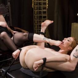 Lauren Phillips in 'Kink' Bella Rossi Breaks in Redhead Lesbian Anal Slave (Thumbnail 11)