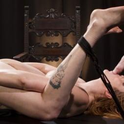 Lauren Phillips in 'Kink' Bella Rossi Breaks in Redhead Lesbian Anal Slave (Thumbnail 12)