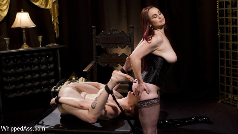 Kink 'Bella Rossi Breaks in Redhead Lesbian Anal Slave' starring Lauren Phillips (Photo 13)