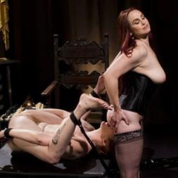 Lauren Phillips in 'Kink' Bella Rossi Breaks in Redhead Lesbian Anal Slave (Thumbnail 13)