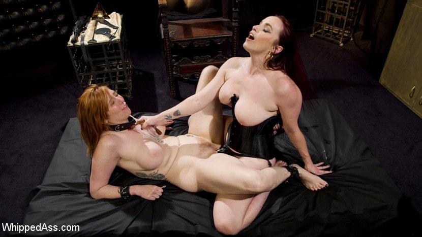 Kink 'Bella Rossi Breaks in Redhead Lesbian Anal Slave' starring Lauren Phillips (Photo 19)