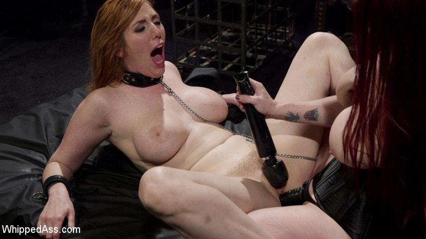 Kink 'Bella Rossi Breaks in Redhead Lesbian Anal Slave' starring Lauren Phillips (Photo 23)