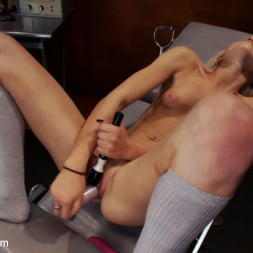 Layden Sin in 'Kink' 18yr old fresh new girl spreads for the machines in the science lab (Thumbnail 2)