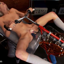 Layden Sin in 'Kink' 18yr old fresh new girl spreads for the machines in the science lab (Thumbnail 12)