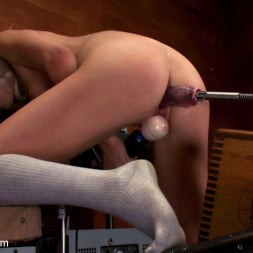 Layden Sin in 'Kink' 18yr old fresh new girl spreads for the machines in the science lab (Thumbnail 15)