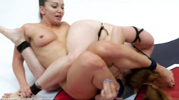 Lea Lexis - 2 Kink Dommes fight in Competitive Erotic Wrestling. Winner takes all