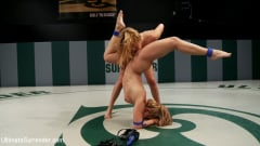 Lea Lexis - Lea Lexis, blonde romanian rookie takes on big titted Krissy Lynn! (Thumb 12)