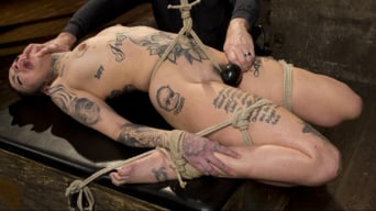 Leigh Raven in 'Tattooed Pain Slut Endures Brutal Bondage with Agonizing Torment'