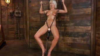 Lexi Swallow in 'Who can Resist a Hot Blond Machine fucked in Chains'