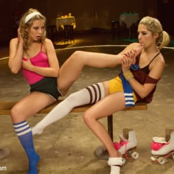 Lia Lor in 'Kink' Dirty Socks and Roller Skates featuring Chastity Lynn and Lia Lor (Thumbnail 5)