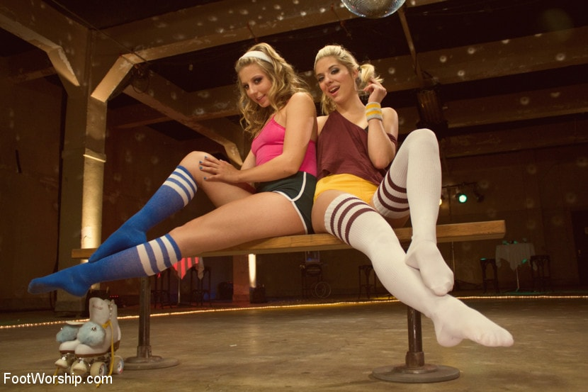 Kink 'Dirty Socks and Roller Skates featuring Chastity Lynn and Lia Lor' starring Lia Lor (Photo 6)