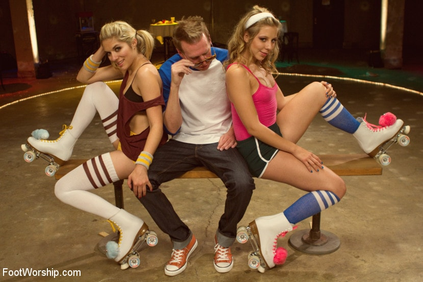 Kink 'Dirty Socks and Roller Skates featuring Chastity Lynn and Lia Lor' starring Lia Lor (Photo 7)
