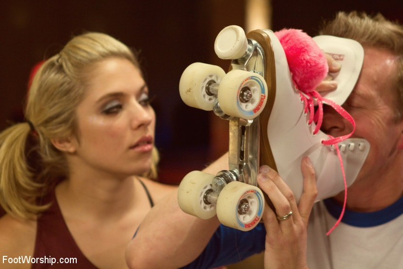 Kink 'Dirty Socks and Roller Skates featuring Chastity Lynn and Lia Lor' starring Lia Lor (Photo 8)