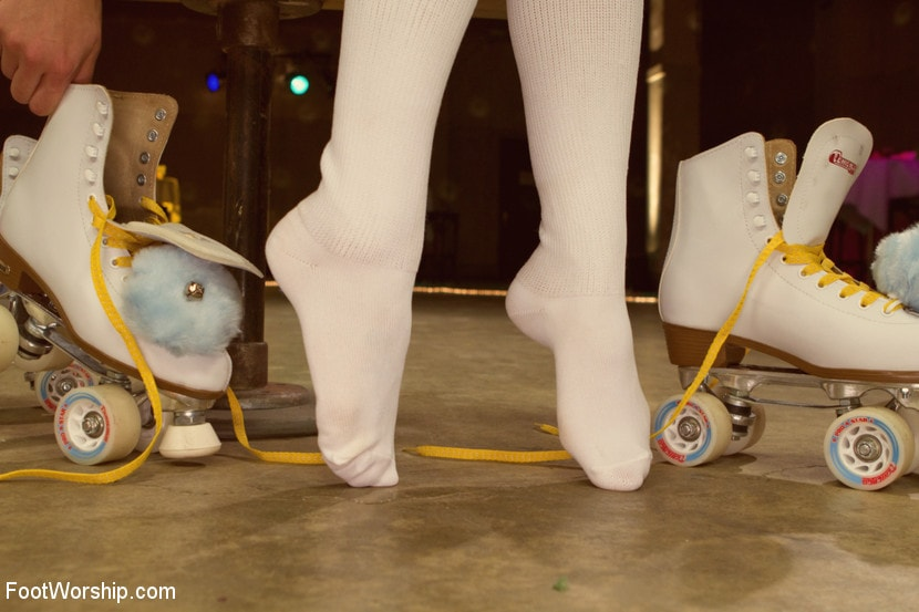 Kink 'Dirty Socks and Roller Skates featuring Chastity Lynn and Lia Lor' starring Lia Lor (Photo 19)